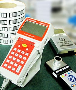 Photo of quality testing equipment