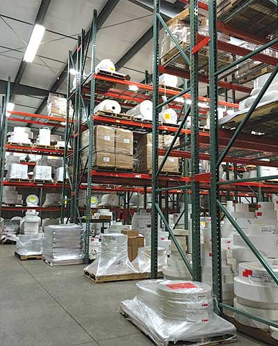 Photo of warehouse interior