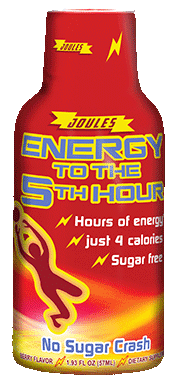 Energy drink bottle