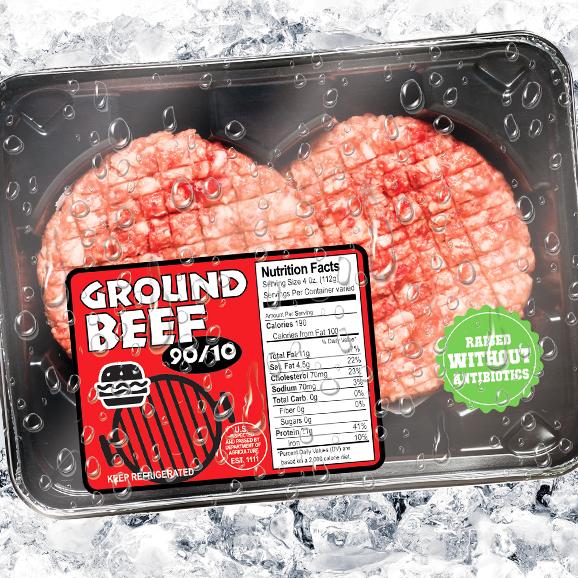Label Specialties Meat Pak Labels Premium
